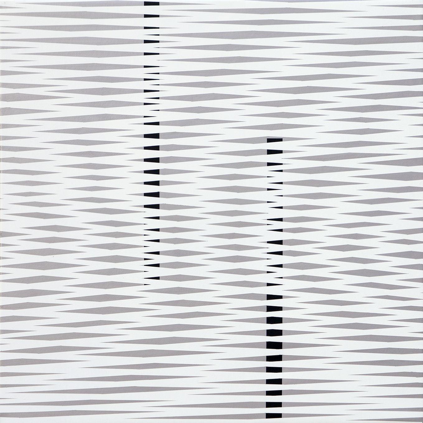 Plac 2018, acrylic on canvas, 70 x 70 cm
