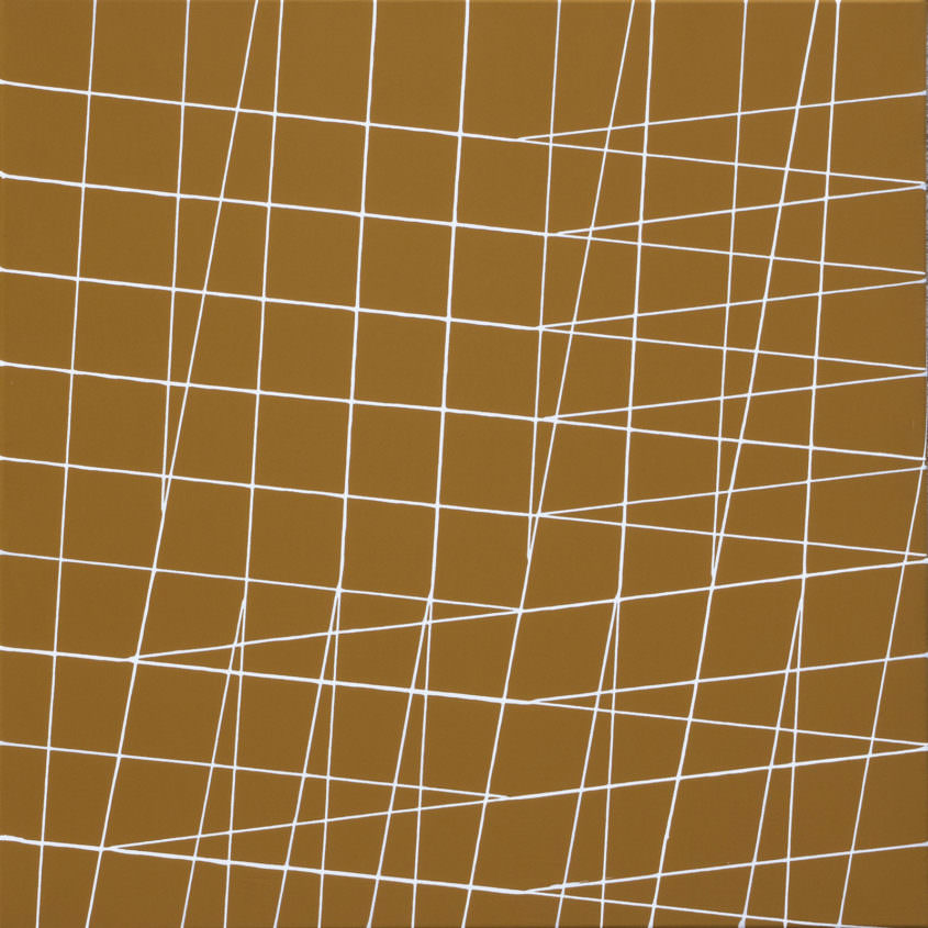 trail 04 107 Acryllack auf Polyester, 70 x 70 cm