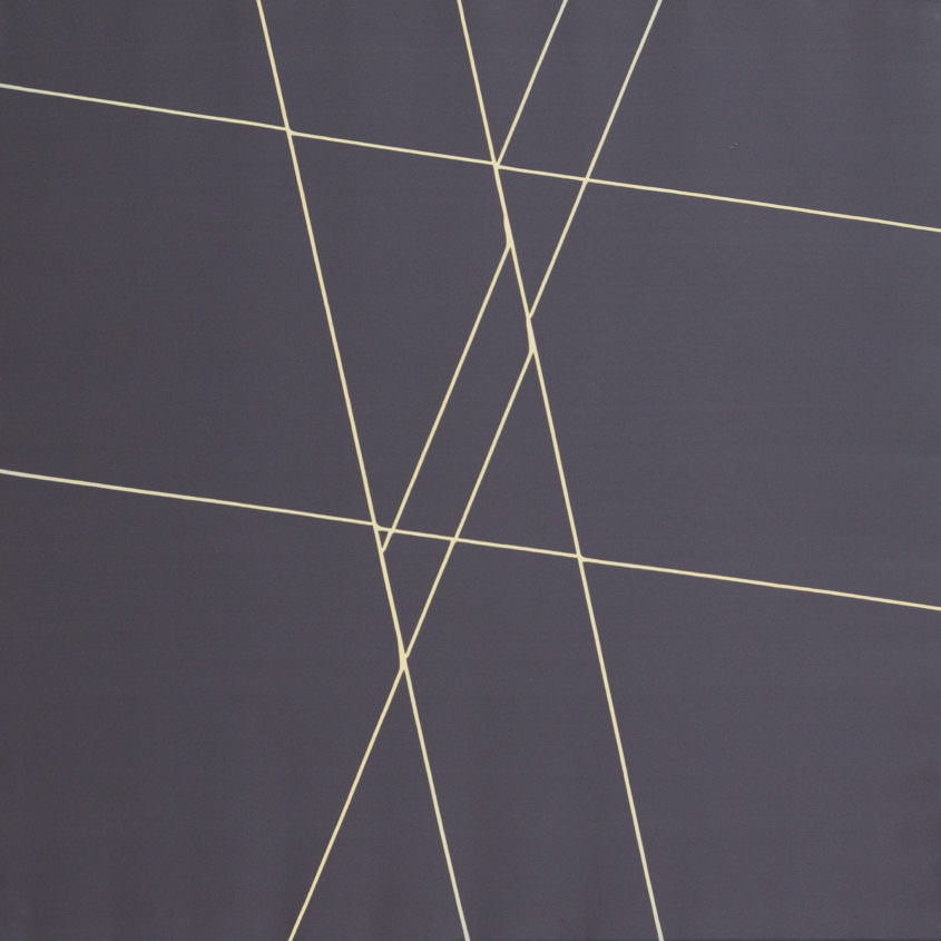 trail 07 107 Acryllack auf Polyester, 70 x 70 cm