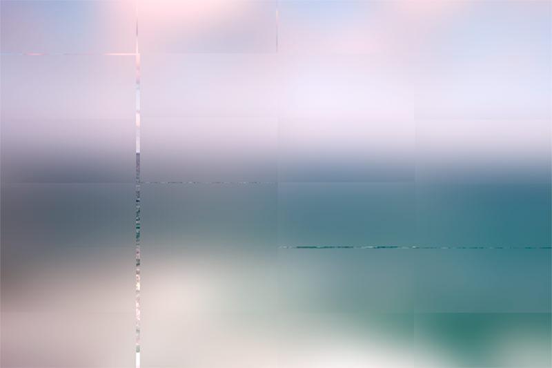 Diffusing Scrren - La Mer, 2006, C-Print auf Hahnemühle Bütten