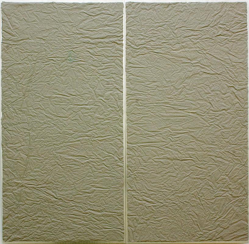 Crumple 02, 100 x 100 cm