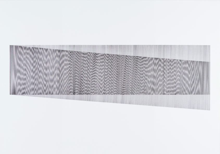 Overlay 01, 2017 Indian Ink on Cardboard, 70 x 100 cm