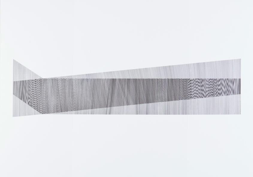 Overlay 03, 2017 Indian Ink on Cardboard, 70 x 100 cm