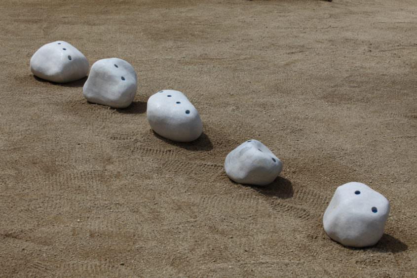 Sinked Horizons, 2010, @ Kunstwerk Krastal, Symposionspräsentation