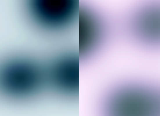 Blur KL, 2002 Pigmenttinte auf Reispapier, je 24,5 x 33,5 cm