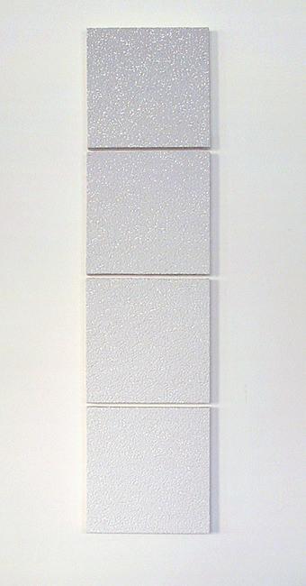 SOUP 2006, vierteilig, Acrylfarbe auf Leinwand, 110 x 30 cm