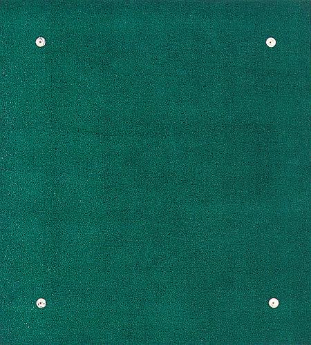 Farbbohrung 09, 1999, Dispersion, Bohrungen, 76 x 68 cm