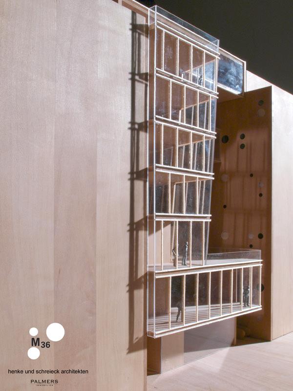 Modell Henke Schreieck Architekten