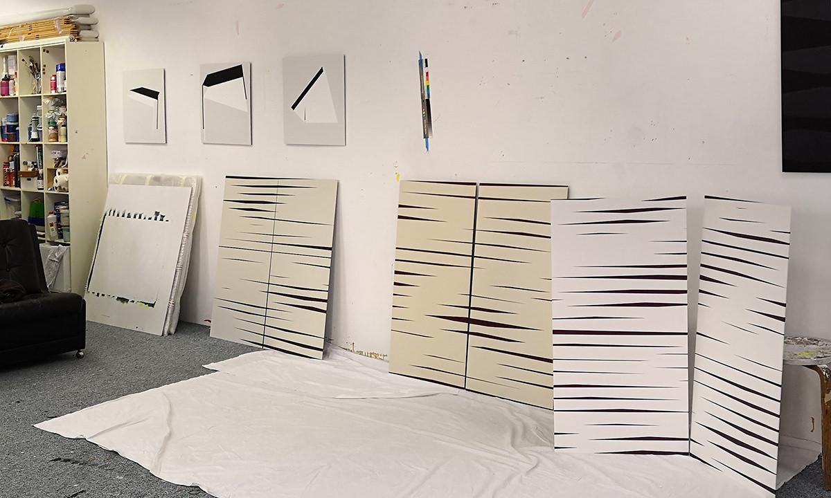 Einblick in das Atelier